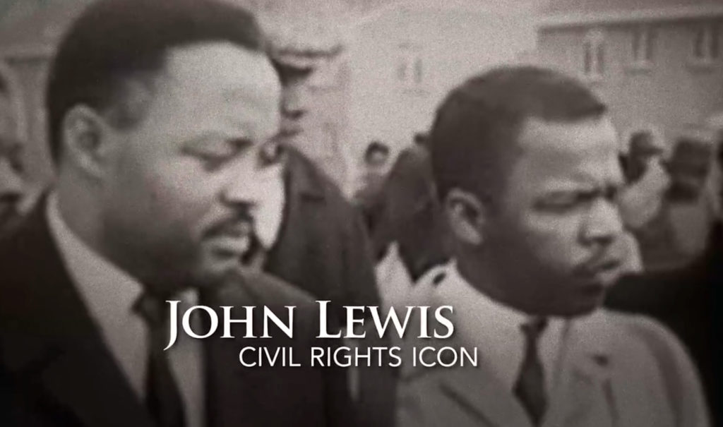 UnCANNY MUSIC scored and mixed this piece about John Lewis.